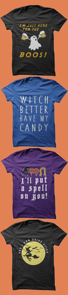 The funniest Halloween party shirts all in one place. Click to see our collection of great Halloween shirts. Don't miss out, be prepared for Halloween before its too late!