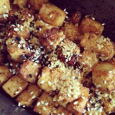sweet and sour baked tofu