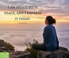 I am filled with peace