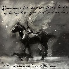 charlie mackesy horse and boy drawings Charlie Mackesy, The Mole, Horse Quotes, Dog Quotes, Horse Drawings, Horse Art, Oeuvre D'art, Cool Words, Les Oeuvres