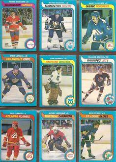289-297 PIerre Bouchard, Wayne Bianchin, Garry Lariviere, Steve Jensen, John Garrett, Hilliard Graves, Bill Clement, Michel Larocque, Bob Stewart