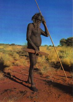 Indigenous Australian. We can learn so much from them.