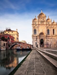 Italy - Venice: Canals and Churches | Flickr - Photo Sharing!