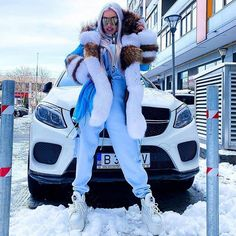 Eric Kramer, Buffalo Boots, Fox Fur Coat, Fur Fashion, Mistress, Parka, Instagram, Stay Tuned, Ice