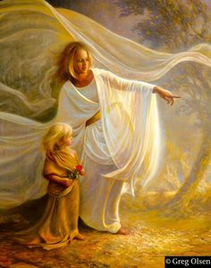 Heavenly Hands by Greg Olsen