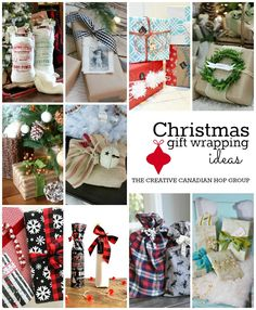 I have always loved wrapping presents in creative ways and today I'm sharing a festive way to add a little more pretty to plain brown craft paper. I love the versatility of craft paper and I'm sm...