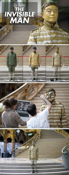 The Invisible Man…