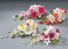 Gum Paste Flowers Spray Assortment Mix 1
