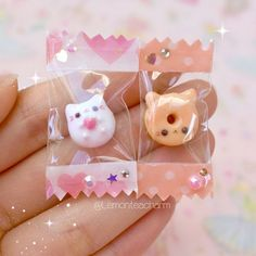 (just in case anyone forgets) My name is Jamie, and I . - Clay - HI EVERYONE! (just in case anyone forgets) My name is Jamie, and I make charms out of - Fimo Kawaii, Polymer Clay Kawaii, Polymer Clay Charms, Kawaii Charms, Cute Crafts, Diy And Crafts, Crafts For Kids, Paper Crafts, Simple Crafts