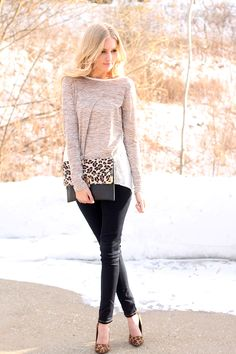 Cozy weather style by blogger Lyss