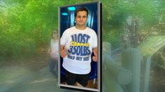 How theme park visits helped this man lose hundreds of pounds