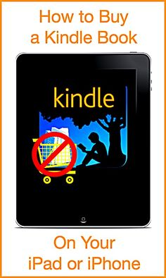 If you want to buy Kindle books for your iPad or iPhone you can't use the Kindle app. Here's how to buy Kindle books without using the Kindle app. >Informative Carolyn! @wonderoftech :)