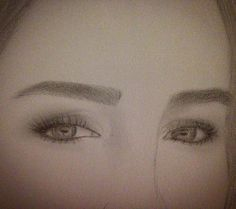 #drawing #pencil #art #eyes #eyebrows #brows #lashes #makeup #pencilmakeup #drawinginprogress #eyelashes #beautiful #beauty #byme #instadrawings #instaart