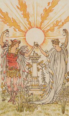 XIX.The Sun: Harmonious Tarot