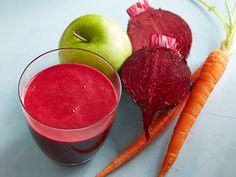 Beet-Carrot-Apple Juice recipe from Food Network Kitchen via Food Network
