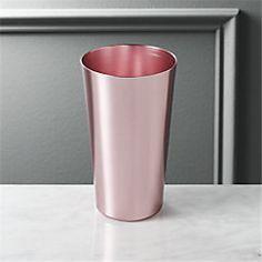 View larger image of doris light pink aluminum tumbler