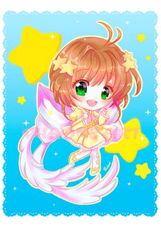 Sakura Card Captor Sakura Clear Card by Phadme