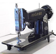 Lightweight and Powerful Morse DeLuxe, restored by Stagecoach Road Vintage Sewing Machine