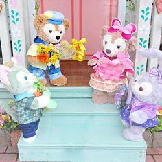 """ハートがかわいいグッズが盛りだくさん!東京ディズニーシー""""ダッフィーのハートウォーミング・デイズ2018""""グッズ Disney Cookies, Duffy The Disney Bear, Disney Cats, Tokyo Disney Sea, Happy Friends, Disney Wallpaper, Teddy Bear, Kawaii, Valentines"""