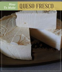 How to Make Queso Fresco - Easy Recipe with Step-by-Step Instructions. Pioneer Settler | Homesteading | Self Reliance & Best Homemade Survival Food Recipes #pioneersettler.com | pioneersettler.com