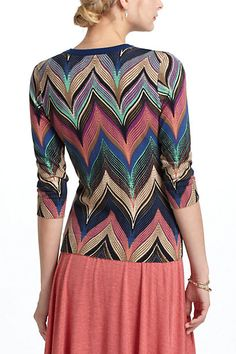 chevron sweater - anthropologie