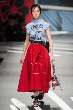 Miuccia Prada used clothes as her canvas this season to celebrate women\'s strength and toughness. WGSN\'s Lizzy Bowring reports