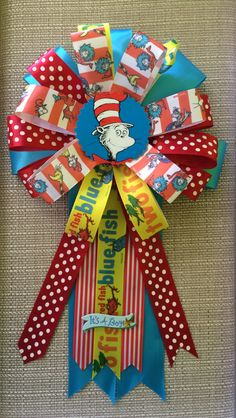 Dr. Seuss/ Cat in the Hat Inspired Baby Shower by BabyGuardians