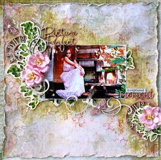 LO created for Dusty Attic DT using their chipboard and stencil designs.  Chipboard, stencils,