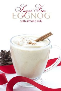 The best sugar-free low carb eggnog recipe gets a much needed update and a how-to video. Delicious and creamy, perfect for all of your healthy holiday celebrations! Dairy-free option. I'd never had homemade eggnog until the first time I spent Christmas at my in-laws house. Up to that point, I assumed it came in a carton and that was that. Like Athena from Zeus's head, it sprung fully-formed from grocery store shelves. So my father-in-law's homemade version came as quite a revelati...