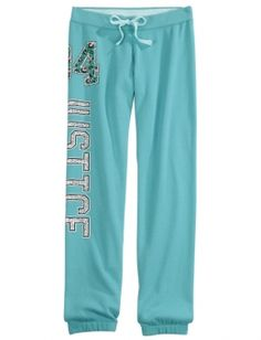 Justice Skinny Cuff Sweatpants   Girls Active Outfits New Arrivals   Shop Justice
