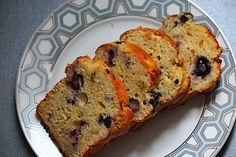 blueberry banana mini loaves