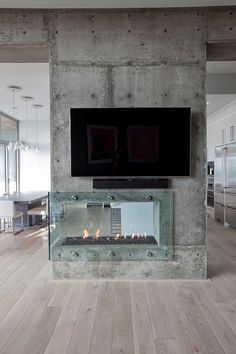 World of Architecture: 20 Contemporary Fireplace Ideas |