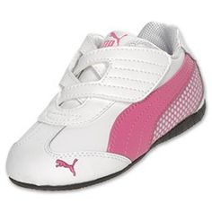 Haley's second pair of puma's, too dirty to look like this, luckily for her, her dad enjoys spending money on shoes for her