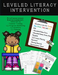 Leveled Literacy Intervention (LLI) Professional Development Bundle GREAT FOR COACHES, TEACHERS, or ADMINISTRATION***All Items are Editable in Powerpoint or Excel****Excellent for Introductory LLI Training Included in the Bundle:**Full Inventory Sheets for Orange, Blue, Green, Red, and Gold Kits**Detailed LLI Frameworks with Suggested Time**Odd Numbered Lesson Implementation Tool (Used for administrative observations or teacher guidance)**Even Numbered Lesson Implementation Tool (Used for…
