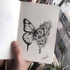 Shawn Mendes gets butterfly tattoo after getting the idea from a fan - Tattoo designs - Mini Tattoos, New Tattoos, Small Tattoos, Best Friend Tattoos, Arrow Tattoos, Temporary Tattoos, Butterfly Tattoo Designs, Butterfly Design, Butterfly On Flower Tattoo