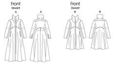 V1212 | Misses' Coat | Coats/Capes | Vogue Patterns