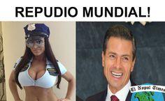 Repudiaron a EPN en gira por Europa y obligaron a usar minifalda a las P...