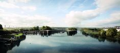 Passerella pedonale - Città di POISSY Paris Seine, France 4, Grand Paris, Oise, Water, Outdoor, Old Bridges, The Syndicate, City Office