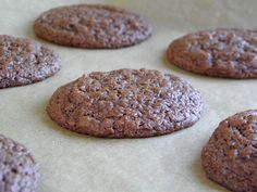Virtuously Sinful Fudge Cookies made with no butter, no eggs in one bowl - from Taste Love & Nourish