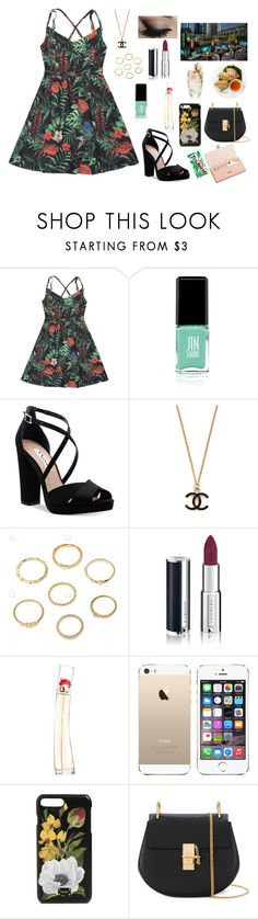 """Blind Date With Baryu~UT"" by mystic-moonstone ❤ liked on Polyvore featuring Jin Soon, Nina, Givenchy, Kenzo, Dolce&Gabbana, Nöe, Chloé and Aspinal of London"