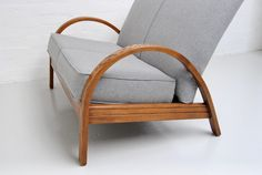 A very stylish petite small sofa/loveseat. Made In England circa Antiques Online, Selling Antiques, Loveseat Sofa, Armchair, Stylish Petite, Small Sofa, House Numbers, Solid Oak, Vintage Furniture