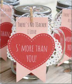 Valentine's Day Gift Ideas in Mason Jars - Mason Jar Valentine's Day Gift - Mason Jar Valentine
