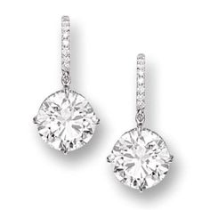 Diamond earrings. I will have these one day!