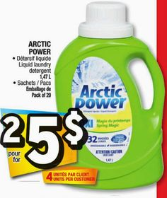 Coupons et Circulaires: 2/5$ Artic Power