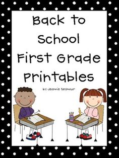 These worksheets are perfect for beginning first grade skills, but can also be used for remediation in 2nd grade or enrichment in K.  I have includ...