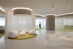 Cool offices: The Santander Center in Spain