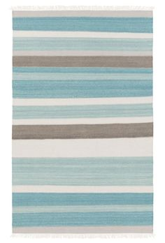 This Blue and Ivory Ceci Rug features bold, vibrant stripes and fun fringe that make for an excellent and electrifying combination – fit for any home needing some color and light! Hand woven of 80% wool, 20% cotton. $63-$1,059. Buy … Continue reading →