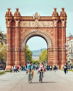 *SPAIN ~ Arc de Triomf - Barcelona