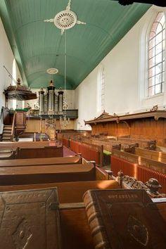 Interieur Scheemder kerk | Scheemda | Groningen