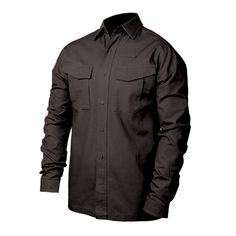 Our Performance Cotton Tactical Shirt has a brand new look while maintaining the function that you would expect from a tactical shirt.• Lightweight cotton material• Main body constructed of wrinkle-, fade-, and stain-resistant 6.1 oz. 100% cotton canvas• Underarm constructed of mesh knit fabric with wicking and antimicrobial finishes• Plain-weave woven with slight brushing for added softness• Traditional notched collar• Full-buttoned placket center-front opening• Colorfast, ...